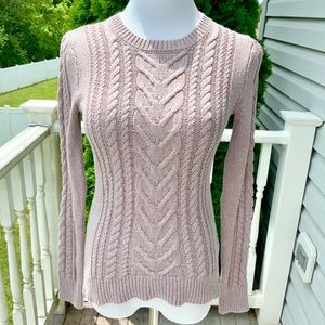 Pinkish Knit Sweater from Old Navy